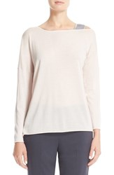 Fabiana Filippi Women's Beaded Cashmere And Silk Sweater