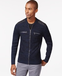 Inc International Concepts Manchester Full Zip Sweater Only At Macy's