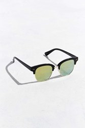 Urban Outfitters Flat Lens Half Frame Sunglasses Black