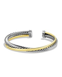 Crossover Cuff With Gold David Yurman