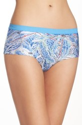 Naja Women's Lingerie Stretch Cotton Briefs Ski Run
