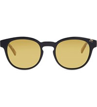Etnia Barcelona Basquiat 03 Glenn Cat Eye Frame Sunglasses Yellow