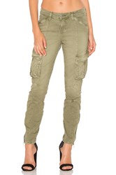 L'agence Montgomery Skinny Cargo Pant Olive