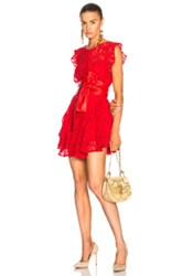 Marissa Webb Melodie Dress In Red