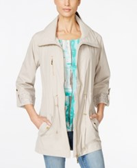 Jm Collection Roll Tab Sleeve Anorak Jacket Only At Macy's Stonewall