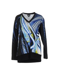 Just Cavalli Sweatshirts Blue