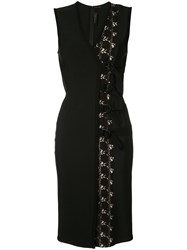 Yigal Azrouel Belted Shift Dress Black