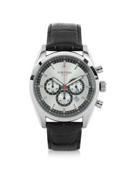 Forzieri Watches Spider Stainless Steel Silver Dial Chronograph Watch