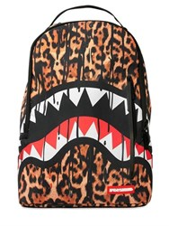 Sprayground Leopard Drips Printed Backpack