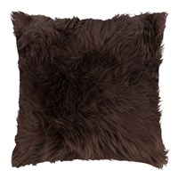 Amara Sheepskin Cushion 45X45cm Chocolate