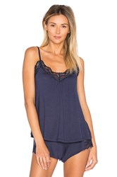 Only Hearts Club Venice Low Back Cami Navy