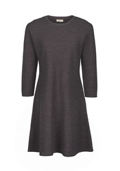 Fat Face Simone Knitted Dress Black