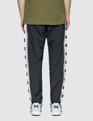 Champion Reverse Weave Taped Elastic Cuff Jogger Blue