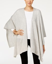 Charter Club Cashmere Wrap Cardigan Only At Macy's Heather Crystal