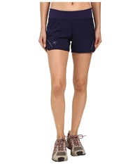 Arc'teryx Lyra Shorts Marianas Women's Shorts Blue