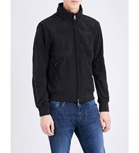 Armani Jeans Stand Collar Shell Jacket Black