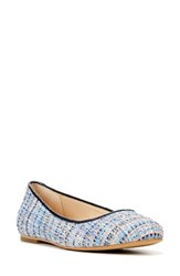 Dr. Scholl's Women's 'Vixen' Ballet Flat Twilight Navy Multi Tweed