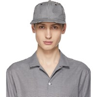 Rag And Bone Black White Dylan Cap
