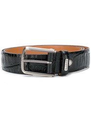 Baldinini Embossed Belt Black