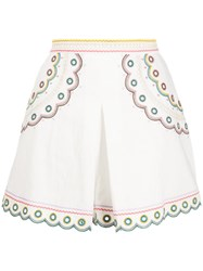 Zimmermann Peggy Embroidered Shorts 60