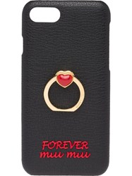 Miu Miu Madras Love Iphone 7 8 Cover Black