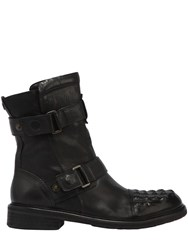 Matchless London Icon Man Leather Zip Up Boots