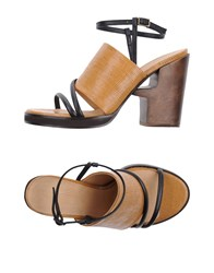 Ellen Verbeek Sandals Camel