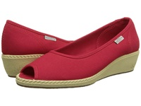 Keen Cortona Wedge Cvs Ribbon Red Women's Wedge Shoes