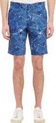 Gitman Brothers Vintage Jean Pocket Print Shorts Blue