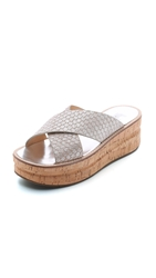 Belle By Sigerson Morrison Almas Flatform Slides Atmosphere