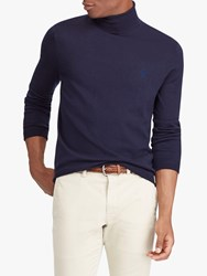 Ralph Lauren Polo Merino Turtleneck Jumper Hunter Navy