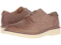Sperry Gold Lug Wingtip Brogue Oxford Tan Men's Lace Up Wing Tip Shoes