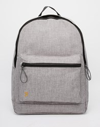 Farah Corwin Marl Backpack Navy Blue