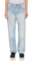 Rag And Bone The Extreme Wide Leg Jeans Powder