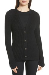 Brochu Walker Rainer Button Cardigan Black Onyx