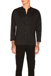 Scotch And Soda 3 4 Sleeve Shirt Black