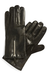 Want Les Essentiels De La Vie 'Mozart' Lambskin Gloves Black