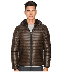 Duvetica Troilo Quilted Down Hooded Jacket Mugo