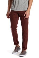 Rvca Spanky Pigment Denim Pant Red