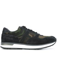 Moncler Camouflage Print Sneakers Multicolour