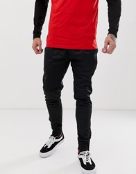 Mitchell And Ness Track Joggers In Black