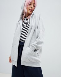 Monki Oversize Hoodie Dusty Grey