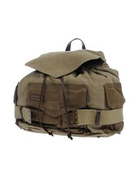 Dsquared2 Backpacks And Fanny Packs Military Green
