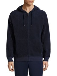 Vilebrequin Hayers Hooded Sweatshirt Navy Heather Grey