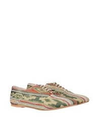 George J. Love Lace Up Shoes Green