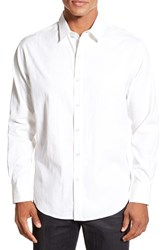 Men's Tori Richard 'Bali Weave' Regular Fit Long Sleeve Jacquard Cotton And Silk Sport Shirt