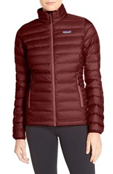 Patagonia Women's Packable Down Jacket Drumfire Red