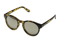 Le Specs Hey Macarena Syrup Tort Gold Revo Mirror Fashion Sunglasses Black