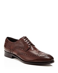 Crosby Square Thomas Wingtip Dress Shoe Brown
