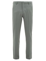 Joseph Jack Tailored Twill Trousers Green